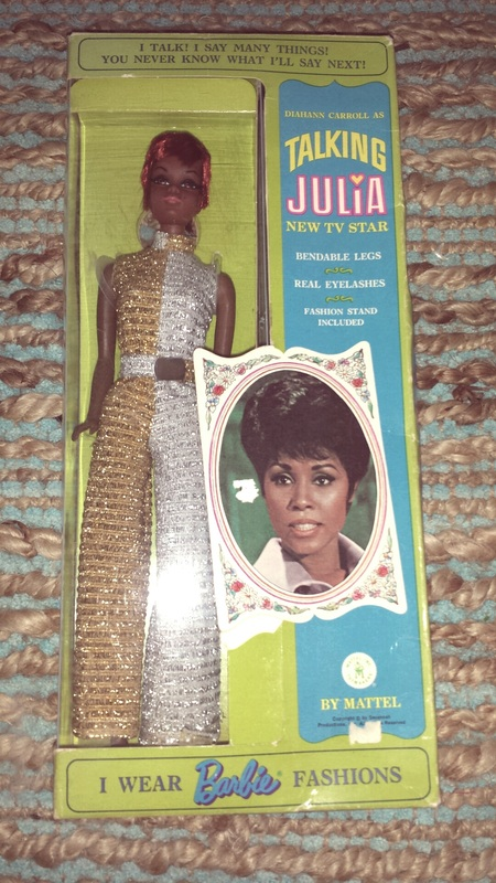 1969 Talking Julia Barbie doll / www.modbarbies.com
