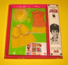 Julia Barbie doll fashions / www.modbarbies.com
