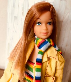 1974 European TNT Barbie doll #8587